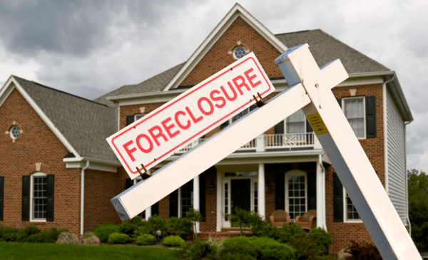 A House Going Into Foreclosure